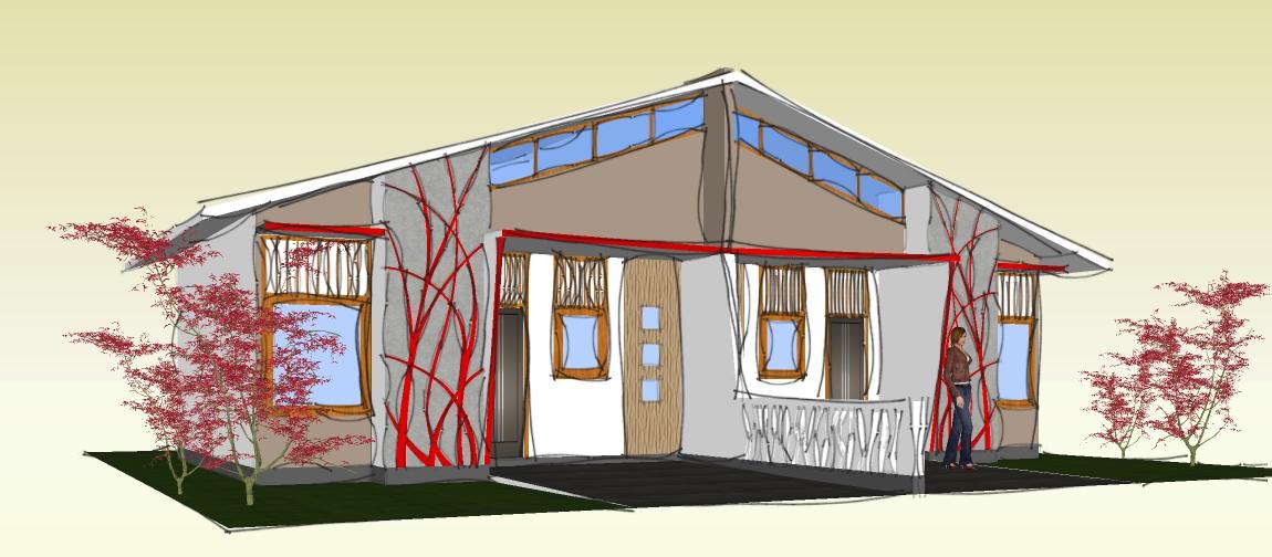 desain rumah si kokoh