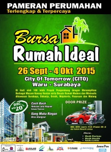 BROSUR rumah ideal 2015, A4 CTK.10RB